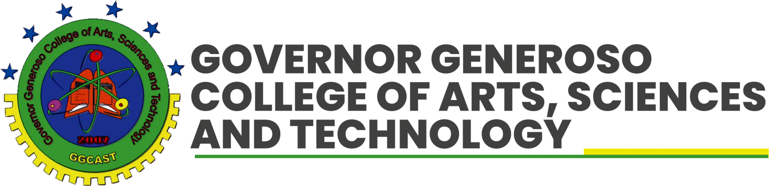 Official Website of Governor Generoso College of Arts, Sciences and Technology (GGCAST)